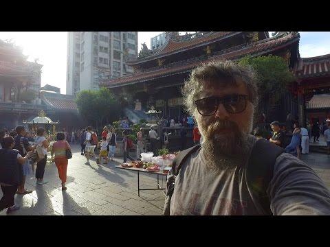 Taipei (Tayvan) Sokaklarını Dolaşıyorum