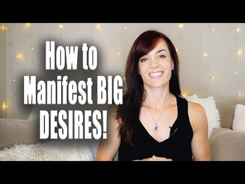 A quick MANIFESTING TRICK for your BIG DESIRES!