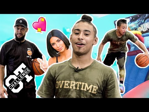 Julian Newman Shows Off Everything & DUNKS In The Overtime Challenge! Jaden Newman Is Up NEXT 😈