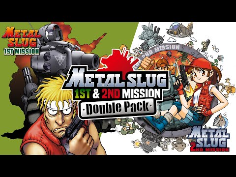 Switch|METAL SLUG 1st MISSION & 2nd MISSION DOUBLE PACK