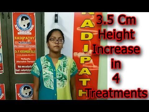 3.5 Cm Height Increase in 4 Treatments @Nadipathy - 동영상