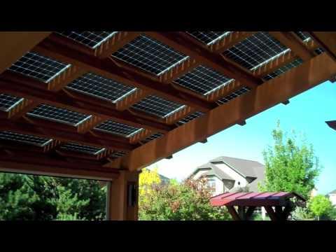 The Solar Awning - YouTube