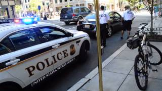 (DC Cop Block) - Racial Profiling by Secret Service Police
