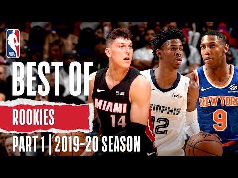 Best Of Rookies   Part 1   2019-20 NBA Season