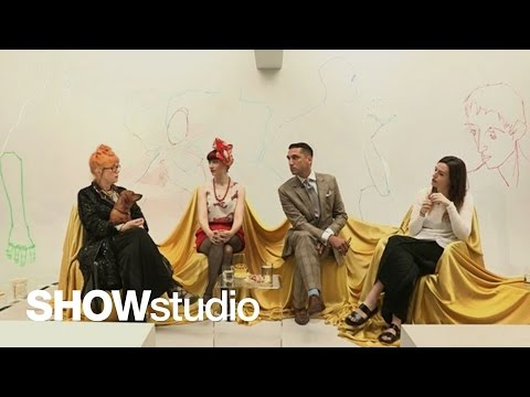 Schiaparelli – Haute Couture Autumn / Winter 2014 Panel Discussion