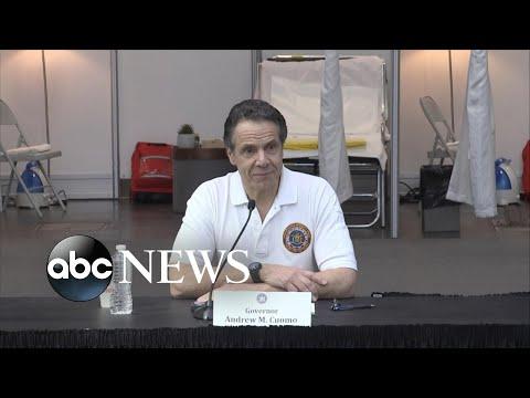 Gov. Cuomo speaks to the National Guard