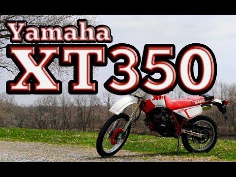 Regular Car Reviews: 1990 Yamaha XT350 - YouTube