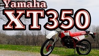 Regular Car Reviews: 1990 Yamaha XT350