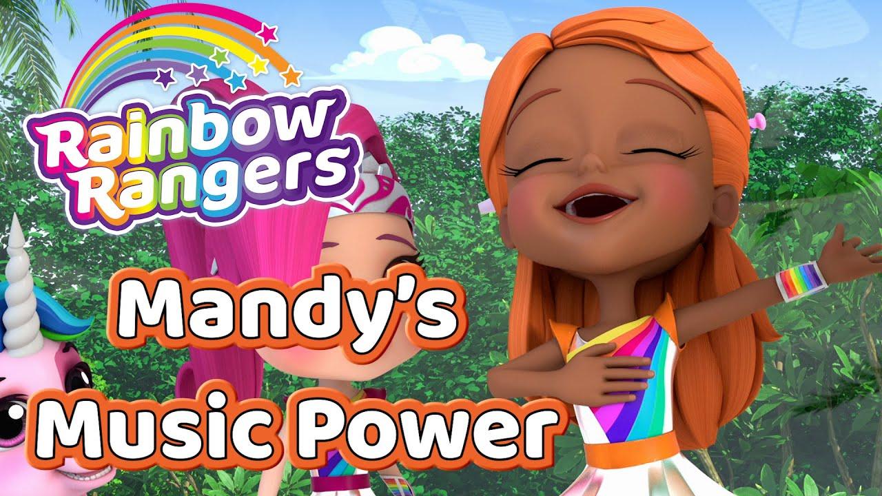 Mandy's Music Powers! | Rainbow Rangers Compilation