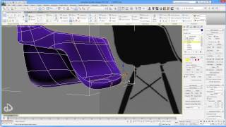Eames Plastic Armchair Daw - Speed Modeling Part.1