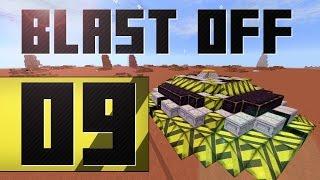 Заброшенный Бункер и Ракетные Криперы! FTB BlastOff! #09 [Minecraft 1.7.10]