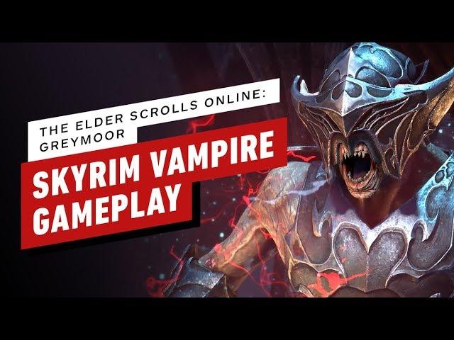 The Elder Scrolls Online: las nuevas habilidades de vampiro de Greymoor son devastadoras + vídeo