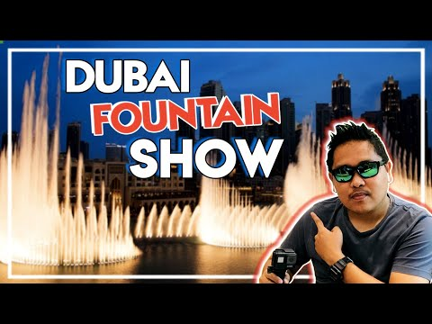 Amazing Dancing Fountain Show in Dubai 2020 (Burj Khalifa Dubai Mall)