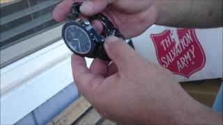 UNBOXING mens watch ONISS GRAND
