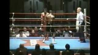 Canadian Featherweight Title 1995--Barrington Francis VS Tops Flores-(Francis TKO 10 RD)