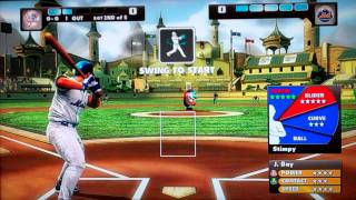 Gor Plays: Nicktoons MLB for the Xbox 360 Kinect (A Let