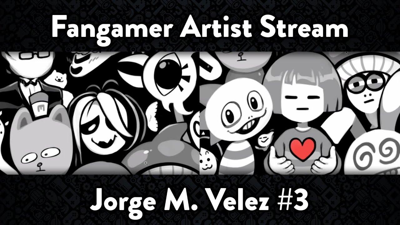 Fangamer Artist Stream - Jorge M. Velez #3