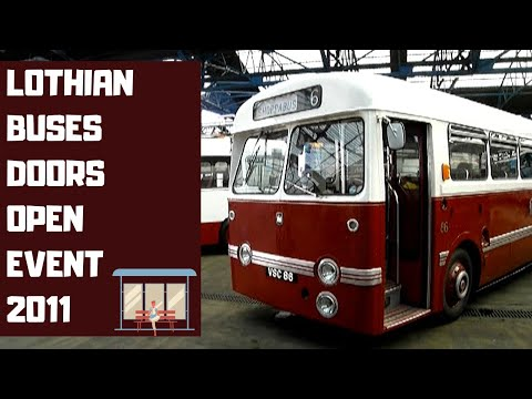 Lothian Buses Annandale Depot Doors Open Day - On the Buses Edinburgh - Bus Depot Tours - Lothians