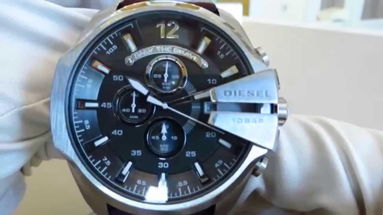 Прославленные во всем мире, часы diesel (дизель), подкупают тем, что они не похожи на другие марки. Большой размер циферблата, яркий.