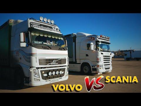 SCANIA против VOLVO - что КРУЧЕ? Обзор топовых европейских грузовиков