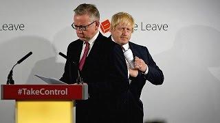 Brexit sonrası ihanetler ve entrikalar