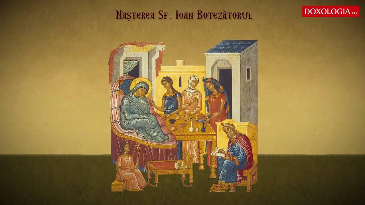 Tropar - Nasterea Sfantului Ioan Botezătorul (24 Iunie) - Otilia Simeria