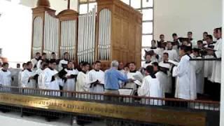 2 SANCTUS BENEDICTUS, REGINA PACIS. Seminario de Guadalajara, Schola Cantorum