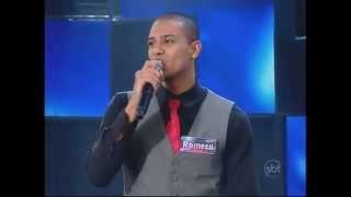 Máquina da Fama - Mineirinho -  O cantor Romero faz  cover de Alexandre Pires - 19/05/2014