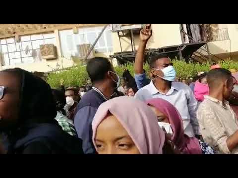 Radio Dabanga reports: Demonstration in Burri, Khartoum, 17 January