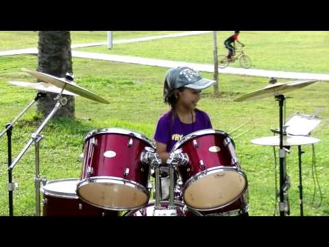 Mark Ronson Uptown Funk ft. Bruno Mars Drum Cover by Nur Amira Syahira