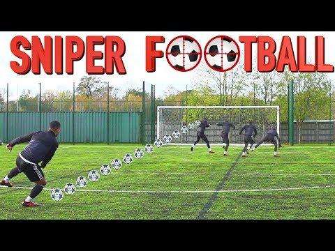 SNIPER FOOTBALL   BILLY VS JEZZA