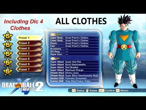 Full Download] All 5 Stars Clothes With Stats Including Dlc