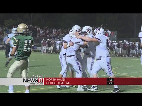 North Haven cruises past ND-West Haven, 42-21