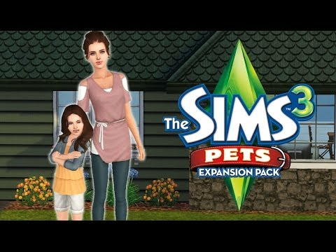 Let's Play the Sims 3 Pets! Part 2: Adopting a Horse
