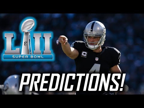 Predicting the next 5 Super Bowl Matchups and WINNERS! Super Bowl 52, 53, 54, and more!