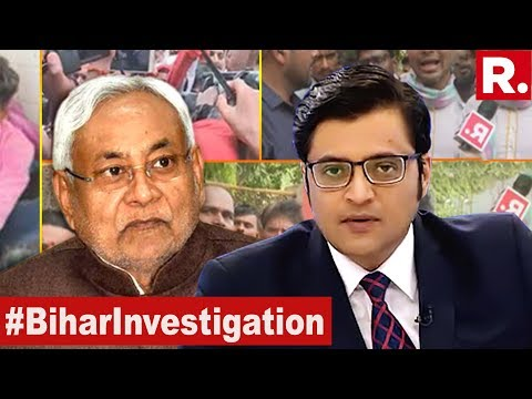 Republic TV Exposes The Bihar Truth | The Debate With Arnab Goswami