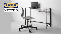 IKEA VITTSJO Laptop Table Assembly Instructions