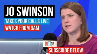 Liberal Democrat Leader Jo Swinson grilled by LBC listeners  - Watch in Full