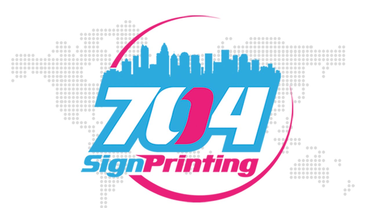 Step & Repeats Charlotte Back Drop stand printing
