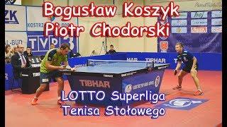 Bogusław Koszyk - Piotr Chodorski / Superliga tenisa stołowego