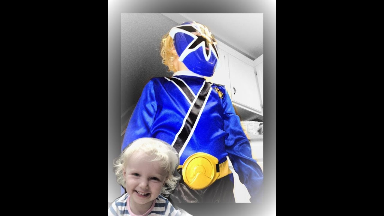 4 Year Cooper meets Blue Ranger Najee Deitege The EZ Way