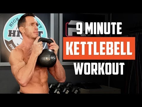 Your 9-Minute Total-Body Kettlebell Workout