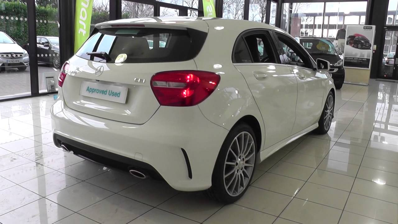 mercedes benz a class a220 cdi blueefficiency amg sport 5dr auto u20095 youtube. Black Bedroom Furniture Sets. Home Design Ideas