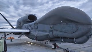 RQ-4 Global Hawk Drone Lands At AFB In Alaska For 1st Time