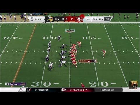 Madden 20 Playoffs Vikings Vs 49ers LIVE STREAM