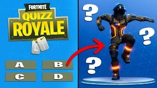 WHAT REALLY DO YOU FORTNITE? #1 THE DANSES (Fortnite Royal Quiz)