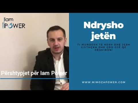 Ndrysho jetën- Mesazhi nga Shefki Dullovi