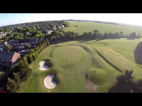 Whitley Bay Golf Club - Aerial Views Of The Course.