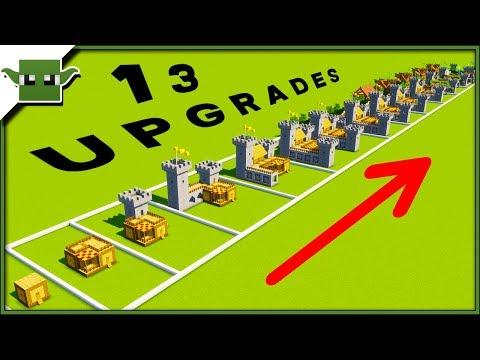 13 Minecraft 5x5 House Upgrades Speedbuild Timelapse thumbnail