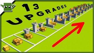 13 Minecraft-5x5-Haus-Upgrades Timelapse Speedbuild